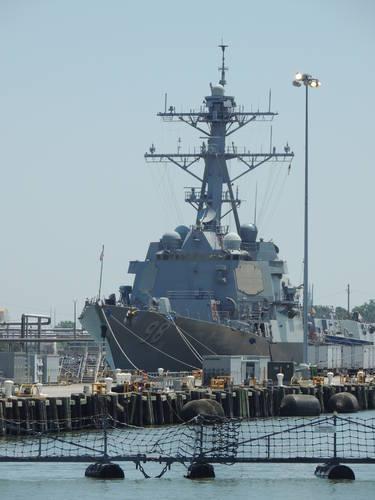 Highlight for Album: USS Forrest Sherman